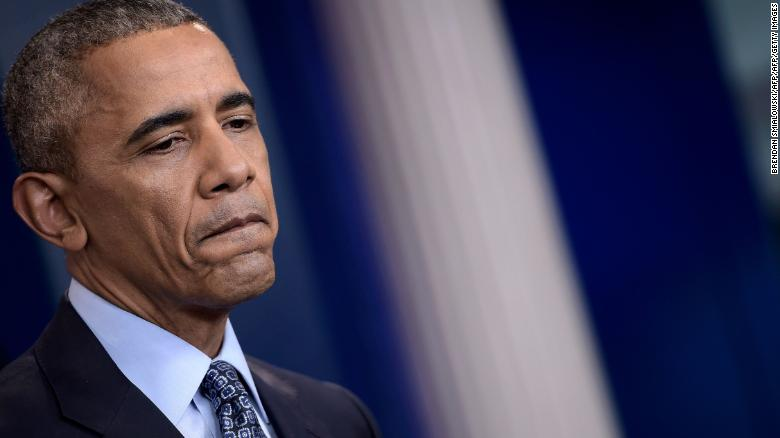 Obama condemns US govt's response to peaceful demonstrations