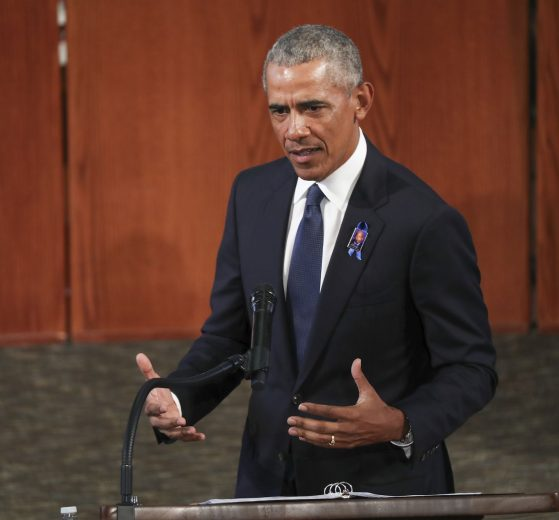 Obama censures US govt's response to peaceful demonstrations