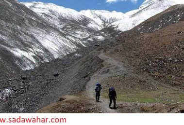 New trekking route to reach Ghumte