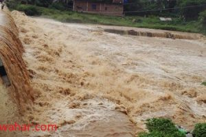 Power production shut after flood sweeps hydropower canal
