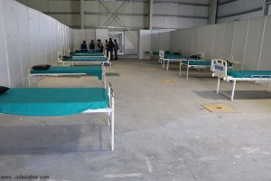 Local levels of Chitwan step up isolation centres