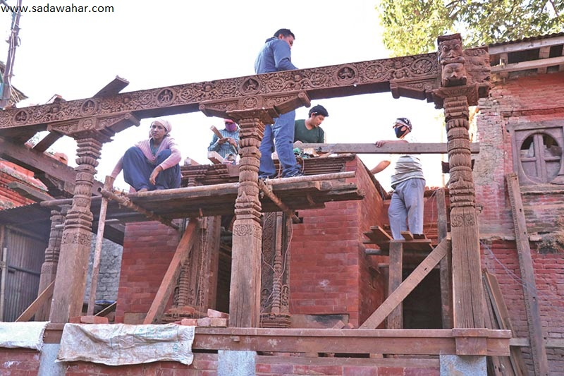 Three temples to be renovated
