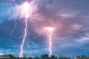 Lightning claims one and leaves five injured