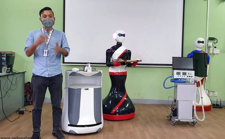 Madhyapurthimi municipality to mobilize robots in remedy of coronavirus infected