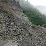Landslide disrupts Narayangarh-Muglin avenue section